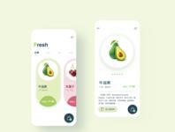 Fresh UI design ui app
