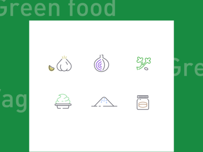 Green Food Icon