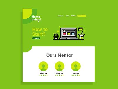 Study From Home concept 2020 corona creative vector icon arts illustration fun ui ux flat design graphic design design