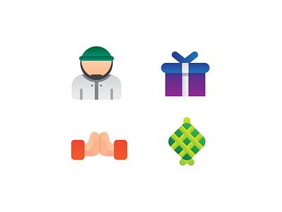 eid mubarak icon icondesign icon ramadhan ui ux creative vector graphic design flat design design