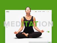 Yoga Webdesign Concept