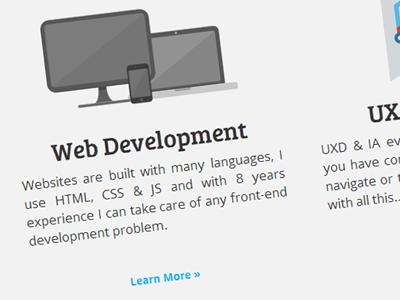 Portfolio Redesign redesign web design flat design html css