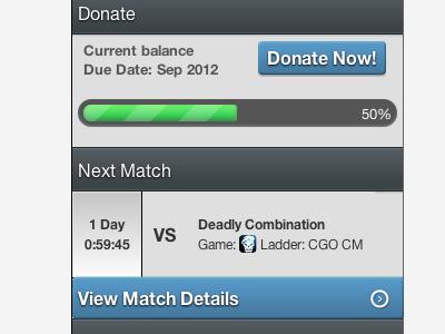 Donate css3 clan theme clean