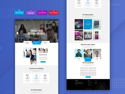 Smart Design Agency PSD Web Template. search engine optimization ranking marketing agency marketing graphic agency digital marketing digital agency creative agency company website business bootstrap