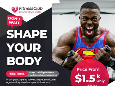 Fitness Instagram Post Banner fitness instagram post banner fitness instagram post banner