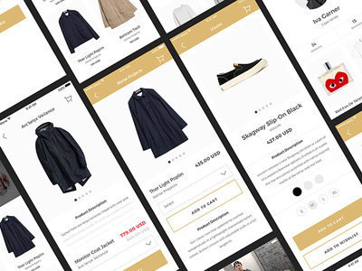 Mono iOS UI Kit for Photoshop and Sketch clean minimalism minimal fashion ecommerce sketch photoshop ui kit