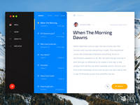 Mac Os Mail App — Envelope UI Kit for Sketch and Photoshop