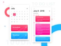 Daily UI #003 - To Do List