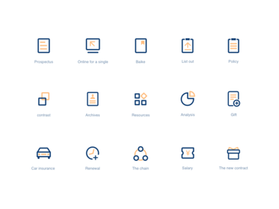 Some exercises for ICONS