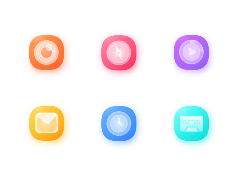 Breath icon application icon system icon breath icon