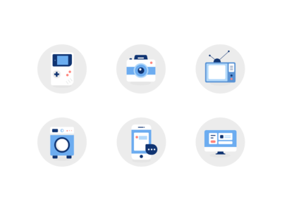 Daily icon practice-Living appliances