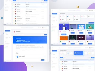 Product Design Platform work queble flat interface platform app mac branding ux ui design