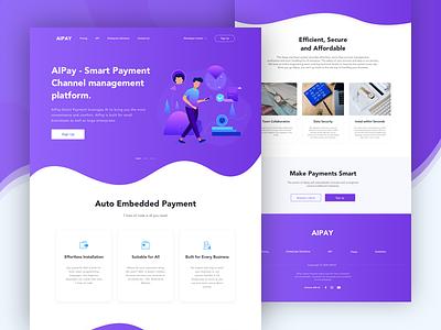 Alpay Web Design Project flat queble interface illustrator illustration branding ux ui website payment web design web