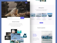 Environment Protection Web Design