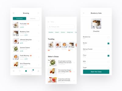 Recipe App Design - Cookbook & Discovery