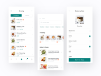 Recipe App Design - Cookbook & Discovery