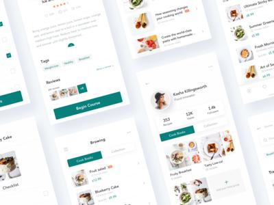 Recipe App Design - Combination