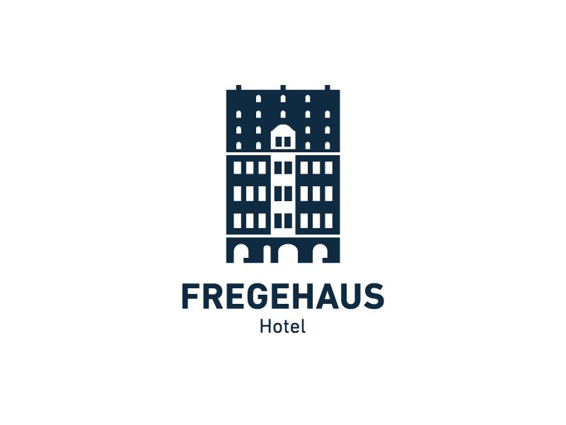 Hotel Fregehaus clean hotel darkblue germany leipzig logo corporate design branding