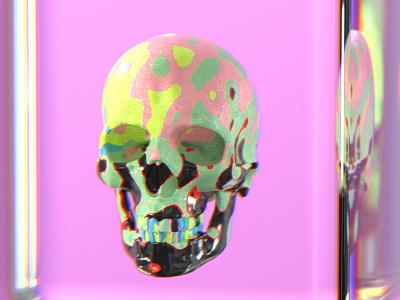 Render Shot 28 redshift color visual texture render effects c4d