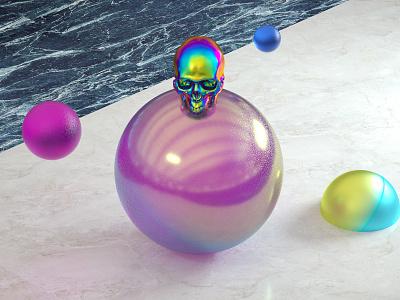 Render Shot 11 visual design texture render effects color octane c4d