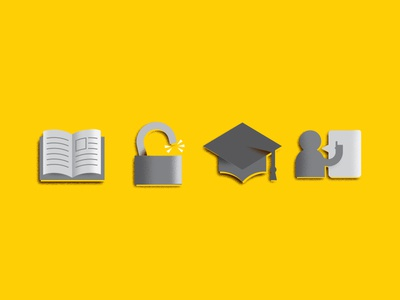 WIP Education Icons