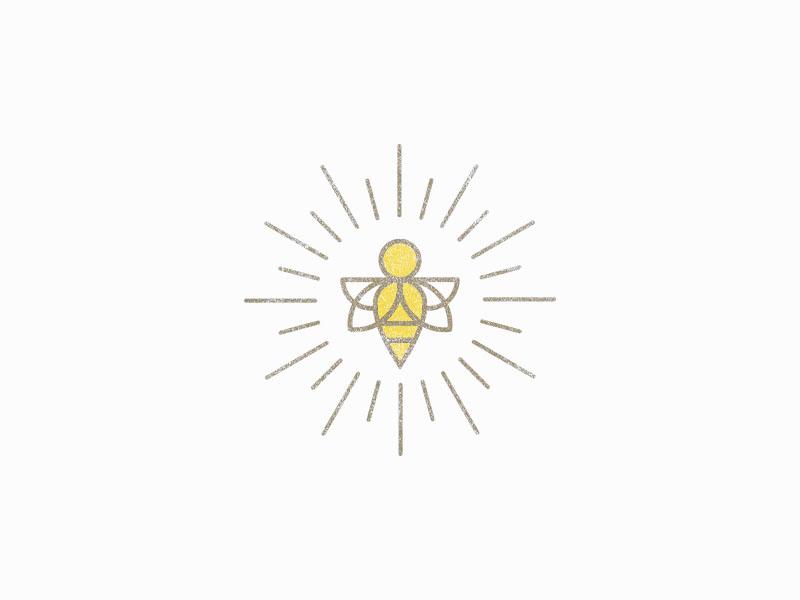 Honey Bee honey bee bumblebee bee icon illustration logo