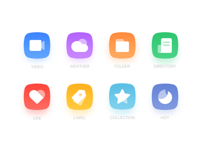 Functional icons icon