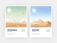 Illustration design beautiful scenery3