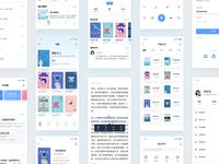 Book Reading App Design2