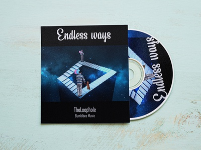 Music Album Cover Design album art album cover manipulation galaxy loop music