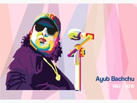 WPAP Portrait of Ayub Bachchu