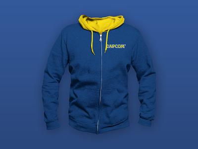 Capcom Hoodie Design video game videogame gamer gaming sweatshirt branding hoodie design hoodie