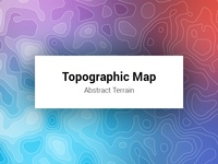 Topographic Map Abstract Terrain