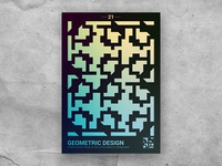 Geometric shape poster 21
