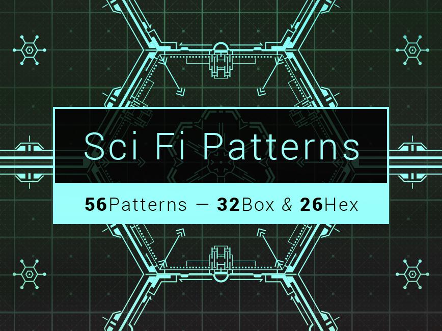 Science Fiction Patterns By Elliot Pessah Dribbble