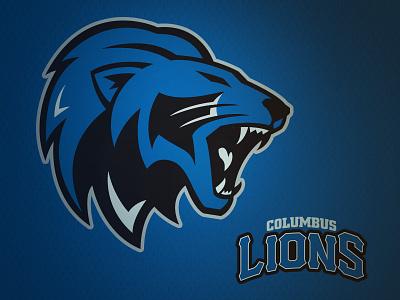 Columbus Lions Concept columbus lions sports design cs16 rebrand lions columbus