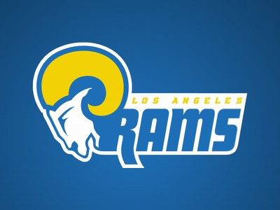 Los Angeles Rams - Brand Identity Proposal los angeles la branding design sports california rams nfl football