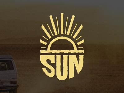 Sun vector illustrator logo design logo sun