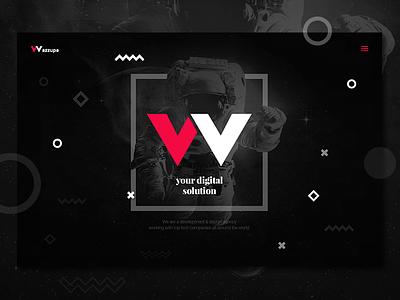 Wazzupa // development & design agency // new identity vector universe development coding ui ux identity design webdesign branding agency digital