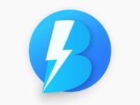 B Flash Logo