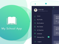My School App - (A detailed UX Analysis)