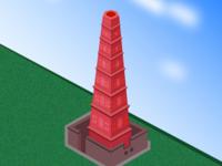 Manora Minar - Isometric