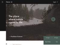 Nature Travel Website