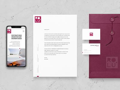 ROLU. visual identity visual  identity logotype website