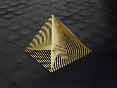My logo visual variations cgi visualization digital art art abstract cinema4d octane gold render 3d logo design