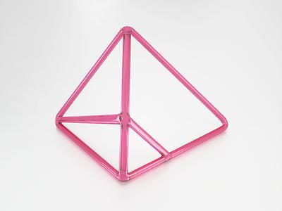 Visualization logo v6 material glass skillup logo modeling digital art cinema4d octane render 3d