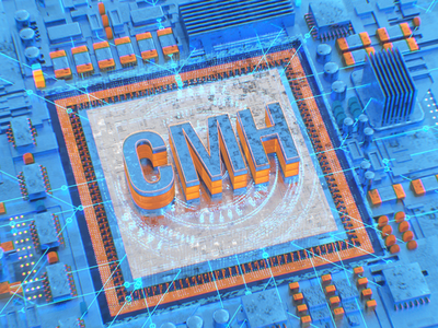 Gazprom neft - SMN design system computer motion 3d texturing modeling cinema4d digitalart cg
