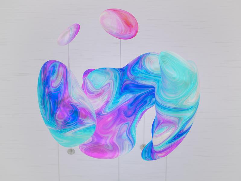 Paint Colors paint colors design illustration render visual c4d cgi octane digital art 3d