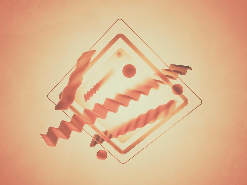 Trendy pasta associations design visualization cinema 4d render logo c4d octane digital art 3d