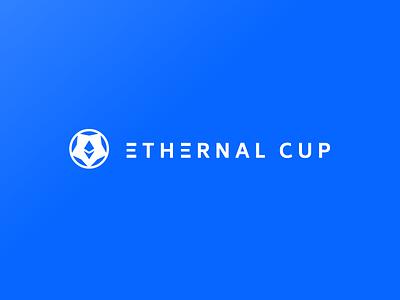 Ethernal Cup - Logo design crypto currency ethereum dapp diseño vector uba branding logo design diseño gráfico graphic design